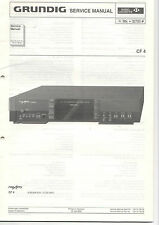 Grundig Service Anleitung Manual CF 4   B345
