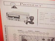 1965 PEARCE-SIMPSON CB RADIO SERVICE SHOP MANUAL MODEL GUARDIAN 23