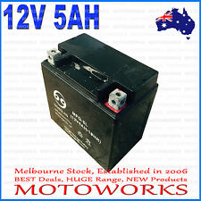 12V 5AH Battery 50cc 70cc 90cc 110cc 125CC ATV QUAD Bike Gokart Buggy Dirt Pit