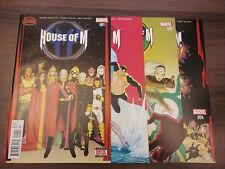 Secret Wars: House of M (Marvel 2015) #1,2,3,4 (Dennis Hopeless Marco Failla)