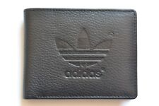 Mens Designer  Cow Leather Wallet / Coin Purse / Bi fold Black NEW STOCK