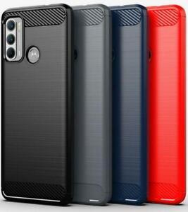 For Motorola Moto G50 5G Case, XT2137 Slim Carbon Fibre Silicone Gel Phone Cover