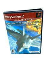 Ace Combat 4: Shattered Skies (Sony Playstation 2, 2001) PS2 Tested No Manual