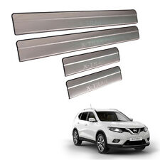 Fit 13-16 Nissan X-Trail Rogue Scuff Plate Door Step Protection Guard Suv Hybrid