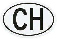 HR-IMOTION Sticker Schweiz CH Schild Kennzeichen Kleber Aufkleber 13,5 cm