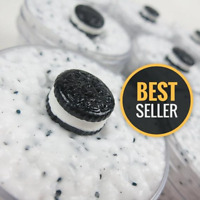 Oreo Floam (scented) with Cute Cookie Charm - 1,2, 4, 6 & 8 oz - Made in USA