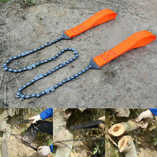 Self Help Outdoor Sport Camping Hiking Survival Emergency Gear Tool Saw Chain