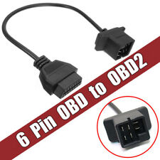6 Pin OBD To OBD2 Check Engine Adapter Cable Code Reader For Chrysler Jeep Dodge