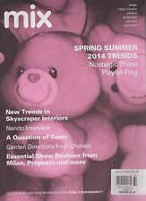 MIX Issue #32, THE MAGAZINE FOR COLOUR, DESIGN & TRENDS, SUMMER & SPRING 2014 UK