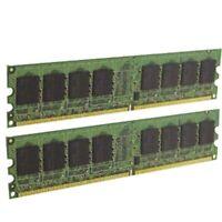 1GB (2x 512MB) PAIR OF HYNIX HYMP564U64BP8-Y5 AB-T 1Rx8 DDR2 PC2-5300 667MHz