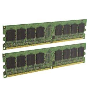 2GB (2x1GB) PAIR OF HYNIX HYMP112U64CP8-S6 AB-C 1Rx8 DDR2 PC2-6400 800MHz