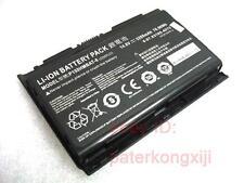 + Genuine CLevo battery P150HM P151HM , Sager NP8150 NP8130, P150HMBAT-8 76.96Wh