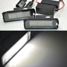 2x Error Free LED License Plate Light For BENTLEY Continental GT GTC Flying Azur
