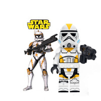 NEW STAR WARS  YELLOW STORMTROOPER CLONE WARS MINI BUILDING BLOCK USA SELLER