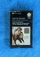 LOVE STORY Soundtrack Cassette Tape Francis Lai Paramount Records PAC 6002