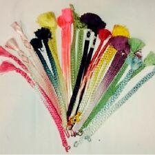 """Vintage Japanese Haori Himo Tie Mix Bundle Kumihimo 12 Pairs """"24 Pieced Bundle"""""""