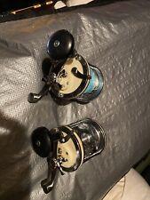 Vintage Garcia Mitchell 624 Multiplier Reel Pair