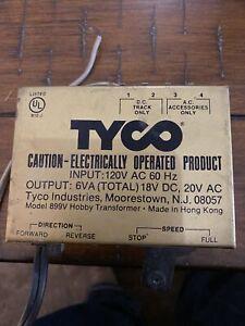 Tyco Model 899B Hobby Transformer Railroad Train Power Pack. HO Scale