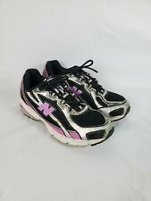 New Balance 740 Womens Black And Pink Running Athletic Shoes Size 7 M