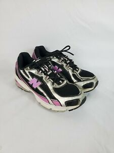 New Balance 740 Womens Black & Pink Running Athletic Shoes Size 7 M