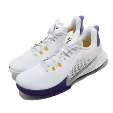Nike Mamba Fury EP LA Lakers Home White Purple Grey Kobe Bryant Shoes CK2088-101