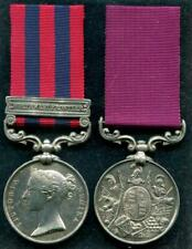 IGS Medal (1854) clasp NWF / LSGC 1st Battalion 6th Regt of Foot (Warwickshire)