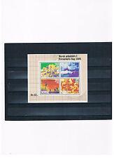Norvège, bloc 5, jour le timbre 1985 Arbeitsleben, NEUF