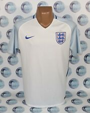 ENGLAND NATIONAL TEAM 2016 2018 HOME FOOTBALL SOCCER SHIRT JERSEY TRIKOT XL