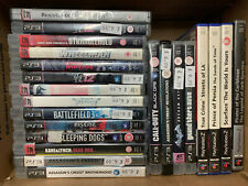 Joblot PS2 and PS3 Games