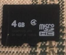4GB MICRO SD HC MEMORY CARD