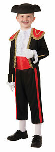 Matador Bull Fighter Spanish Child Costume