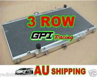 GPI Racing 52mm 3 core Nissan GU PATROL Y61 TD 4.2L aluminum radiator AT/MT