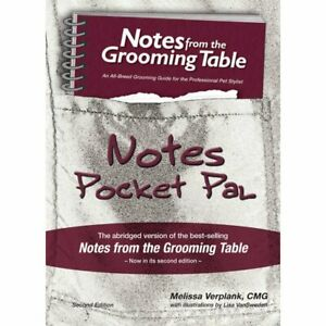Melissa Verplank Notes from the Grooming Table Pocket Pal - 2nd Edition