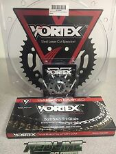 Vortex  520 Chain Sprocket Kit , front and rear for 2007-2017 Honda CBR600RR