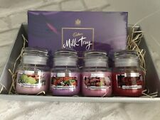 Mum Mother Mothers Day Candle Hamper Summer Scents with Cadbury's Milk Tray