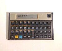 Vintage Hewlett-Packard HP 12C Financial Calculator, 10 Digit Accounting, TESTED