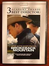 Brokeback Mountain (DVD, 2005, Full Frame) - E0121
