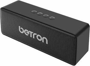 Portable Wireless Bluetooth Speaker Betron D51, Built In Mic Remote, Heavy Bass