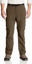 Columbia Big and Tall Men's Silver Ridge Convertible Pants, Breathable, Sz 52x34