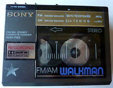 Sony WM-F65 Walkman with Stereo Speakers – AS IS