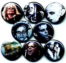 Klaus Kinski x 8 NEW button pin badge werner herzog best fiend stocking stuffer