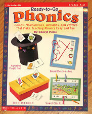 Scholastic READY-TO-GO PHONICS Grades K-2