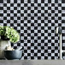Black White Self Adhesive Wallpaper Removable Contact Paper Decor Peel and Stick
