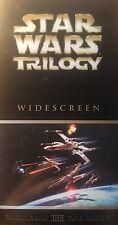 Star Wars Trilogy Collectors Box Set 3 Movies / 3Tapes PAL VHS  VGC