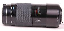 "Konica Minolta 70-210mm f/4 AF Lens For Minolta-""Beer Can""-Zoom-Caps-Lens Shade"