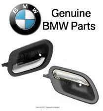 BMW E39 525i 540i 740i M5 Pair Set of Front Left and Right Inside Door Handles