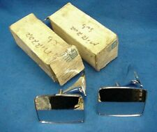 NOS PAIR 73 74 75 76 80 81 82 83 84 85 86 87 CHEVY TRUCK OUTSIDE MIRRORS 326174