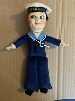 "Nora Wellings Cloth Sailor Doll 1940's -1950's Queen Mary"" Cruise Ship"