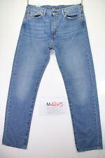 Levi's 505 regular passen (cod. M1205) tg 50 W36 L36 Jeans gebraucht vintage