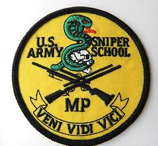 US ARMY SNIPER SCHOOL JACKET ARM PATCH 3 INCHES